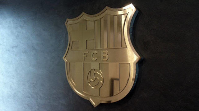 FC Barcelona coat of arms.