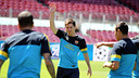 Messi, durante el entrenamiento de este mircoles / FOTO: MIGUEL RUIZ-FCB