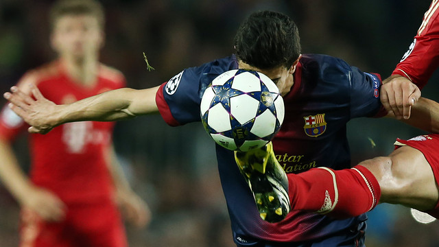 Marc Bartra vs Bayern / PHOTO: MIGUEL RUIZ-FCB