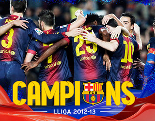 Campions de Lliga 2012/13.