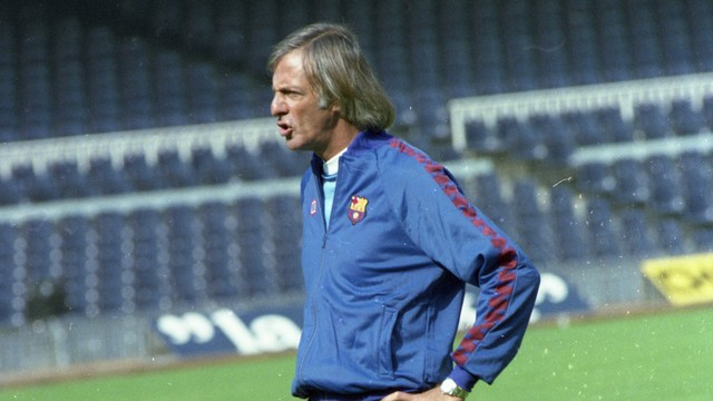 César Luis Menotti . PHOTO: Archive FCB
