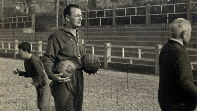 Sandro Puppo. PHOTO: Archive FCB