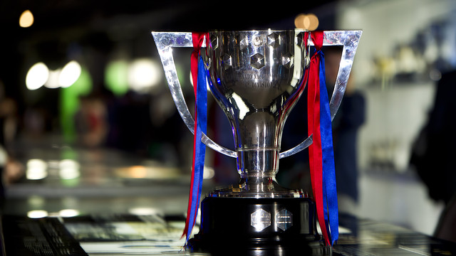 The Liga Trophy / PHOTO: ÀLEX CAPARRÓS-FCB.