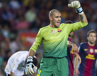 Víctor Valdés / PHOTO: ARCHIVE - FCB