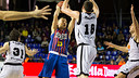 Jasikevicius against Uxue Bilbao Basket / PHOTO: ARCHIVE FCB