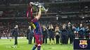 Messi at Wembley Stadium / PHOTO: Arxiu FCB