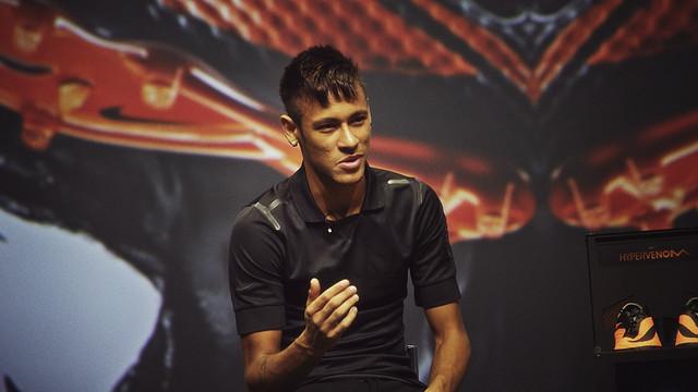 Neymar da Silva. FOTO: NIKE.