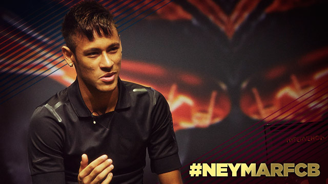 #NeymarFCB