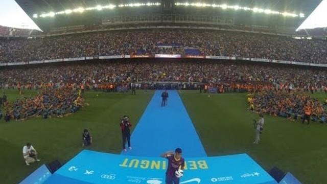 FC Barcelona - Así se llenó el Camp Nou para la presentación de Neymar