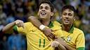 Neymar, durant el partit amb França / FOTO: Neymar Jr (Flickr)