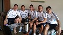 Messi and Mascherano with their Argentina team-mates / PHOTO: Facebook Leo Messi