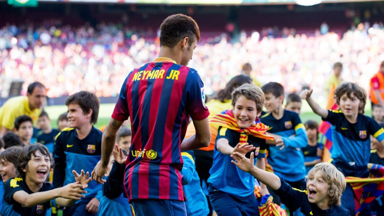 Neymar copa las noticias más vistas en la web del FC Barcelona esta temporada