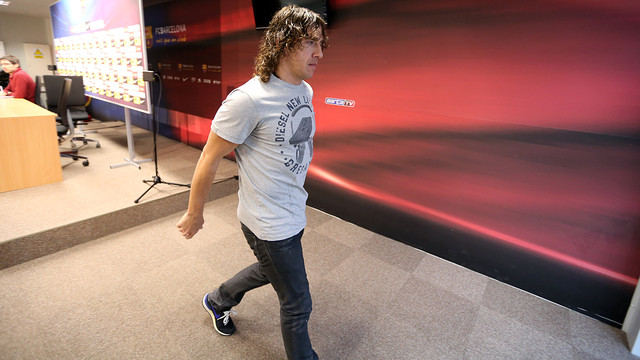 Puyol  / PHOTO: ARCHIVE FCB