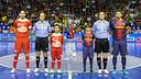 Both team will play again in Palau / PHOTO: Arxiu - FCB