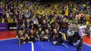 Barça Alusport, campió. FOTO: MIGUEL RUIZ-FCB.