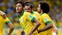 Neymar, contra Itàlia. FOTO: http://www.flickr.com/photos/neymaroficial