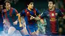 Cruyff, Maradona and Messi