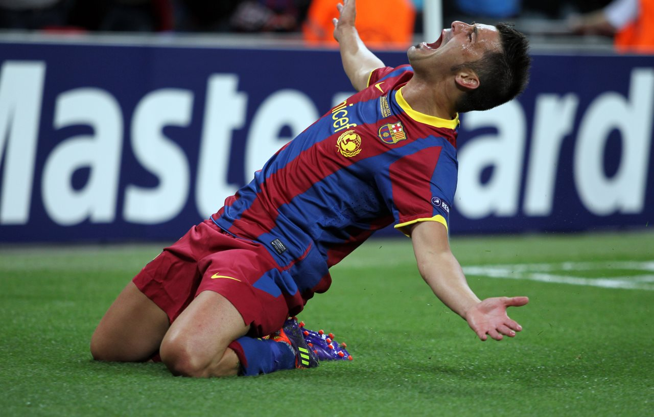 7 great nights from Bar§a number 7 David Villa FC Barcelona