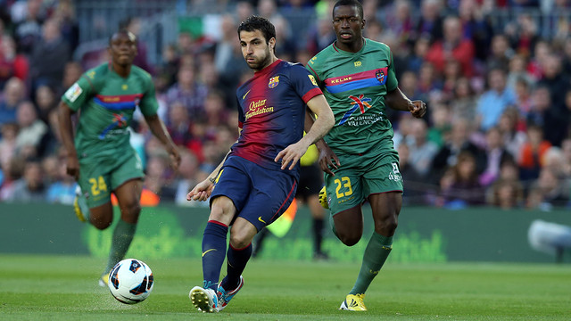 Barça beat Levante 1-0 the last time they met at the Camp Nou / PHOTO: FCB ARCHIVE