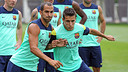 Montoya and Tello / PHOTO: MIGUEL RUIZ - FCB