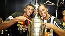 Ronaldinho celebra el títol guanyat / FOTO: Flickr Club Atlético Mineiro