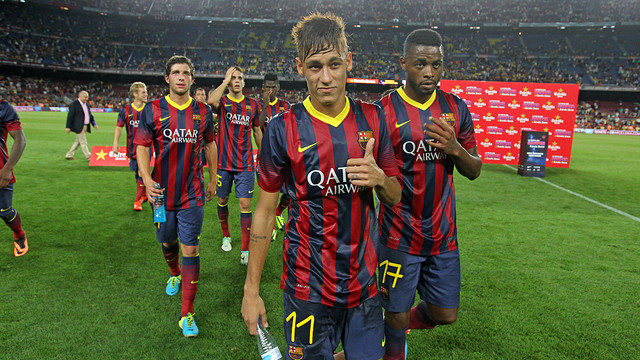 Neymar Jr / PHOTO: MIGUEL RUIZ - FCB