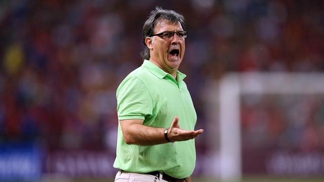 Tata Martino is set to make history for Barça. PHOTO: MIGUEL RUIZ-FCB.