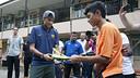 Neymar, a Kuala Lumpur / FOTO: MIGUEL RUIZ-FCB