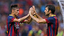 Cesc and Neymar were two of the stars of the last friendly / PHOTO: MIGUEL RUIZ - FCB