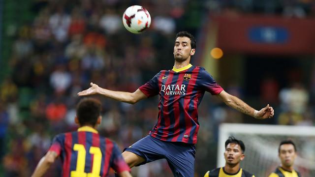 El Barça jugó el último partido de pretemporada en Malasia / FOTO: MIGUEL RUIZ — FCB