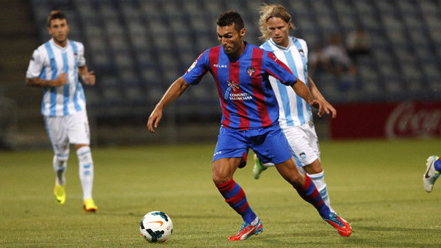 David Barral is one of Levante's main signings of the summer / PHOTO: www.levanteud.com