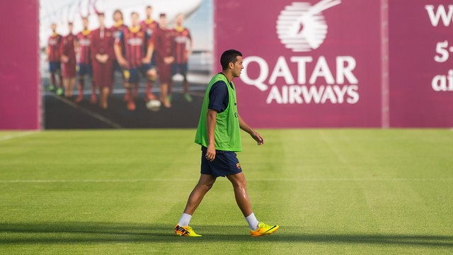 Pedro. Training session PHOTO: MIGUEL RUIZ