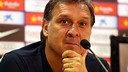 Martino during the press conference. PHOTO: MIGUEL RUIZ - FCB