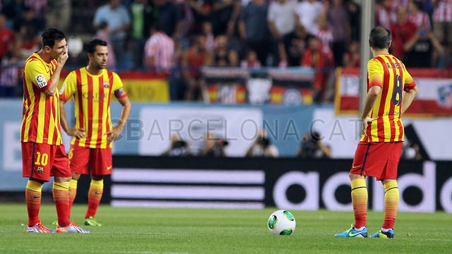 خلاصه بازی بارسلونا -1-1 اتلتیکو مادرید (رفت- سوپر جام اسپاینا)
