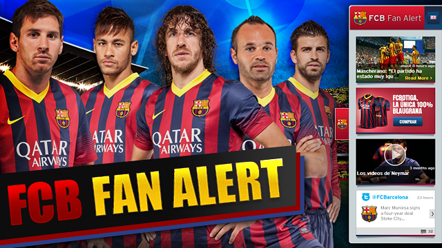 FCB Fan Alert