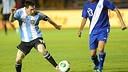 Leo Messi with Argentina / PHOTO: AFA