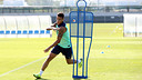 Cristian Tello in training / PHOTO: MIGUEL RUIZ - FCB