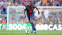 Abidal in a match agianst Màlaga. PHOTO: Archive FCB