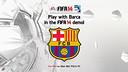 Barça feature in FIFA 14 Demo