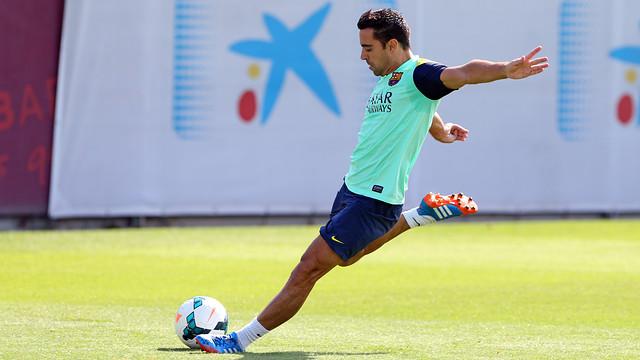 Xavi Hernández. / PHOTO: MIGUEL RUIZ - FCB