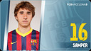 Portrait Sergi Samper. Number 16