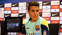 Tello, during his press conference. PHOTO: MIGUEL RUIZ - FCB