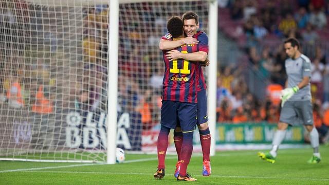 Messi e Neymar. FOTO: MIGUEL RUIZ
