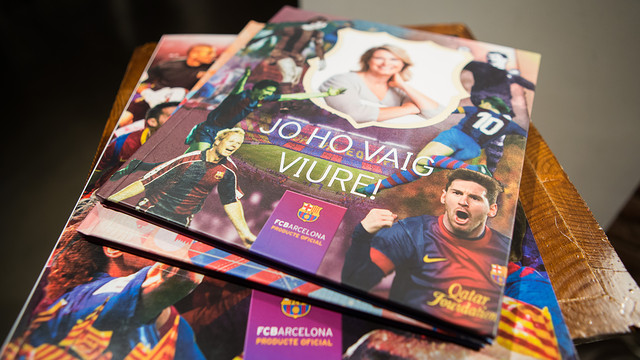 Some of the albums available. PHOTO: GERMÁN PARGA-FCB.