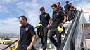 The team will be travelling to Valencia on Tuesday. PHOTO: MIGUEL RUIZ-FCB.