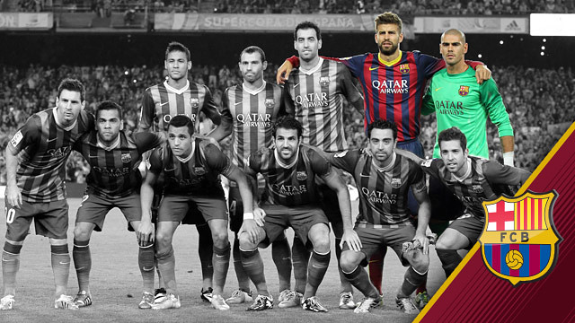 Valdés and Piqué have started every game this season.