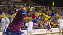 Barça's handball victory against Helvetia Anaitasuna / PHOTO: VÍCTOR SALGADO - FCB