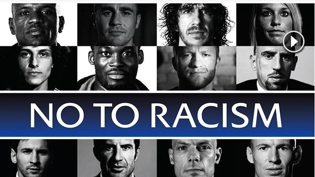 UEFA 'No to Racism' campaign / PHOTO: UEFA.COM