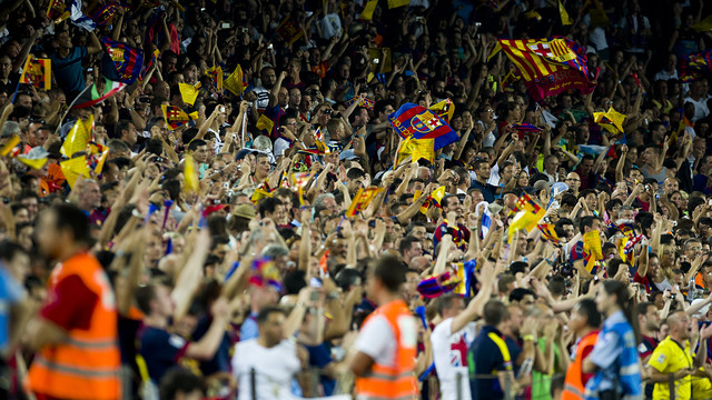 The Clásico between Barça and Madrid will be played on Satruday at 18.00 / PHOTO: ARXIU - FCB