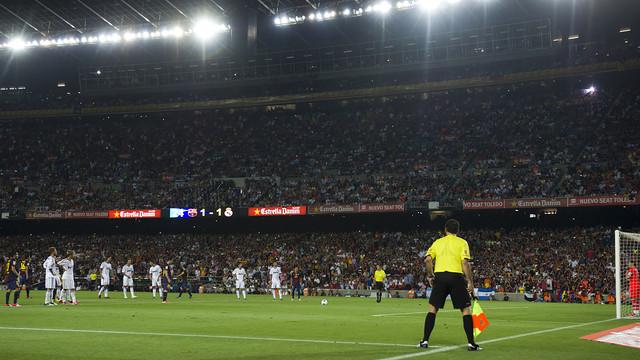 Messi, a la Supercopa de la temporada passada. FOTO: ÀLEX CAPARRÓS-FCB.